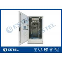 China IP65 Outdoor Telecom Cabinet With Front And Rear Door for sale