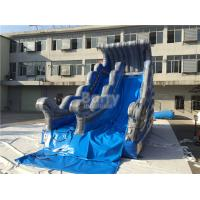 Wholesale Commercial Grade Wave Inflatable Dry Slide 7.6x3.8m Customized from china suppliers