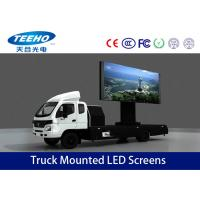 Wholesale P16 DIP Mobile Truck Mounted LED Screens Panel For Cross Road , IP65 MBI5026 from china suppliers