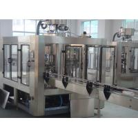 Wholesale Anti Corrosive Rotary Beverage Filling Machine Filling 3-in-1 5000 BPH from china suppliers