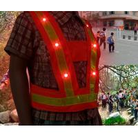 Wholesale Children LED Reflective Safety Vests from china suppliers