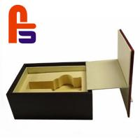 China Large Size Recyclable Materials For Packing Wine Foam Lined Cardboard Boxes for sale