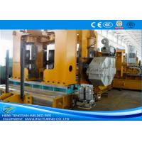 Buy cheap Hot Rolled Straight Seam Welded Pipe Mill For ERW Black Round Tube Building Materials from wholesalers