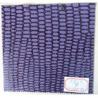 Wholesale Abrasion Resistance Purple Color Artificial Leather Cloth for Belt, Bag, Shoes from china suppliers