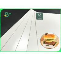 China High Thickness 15g PE Coating 300gsm 320gsm 350gsm Ivory Board For Packing Food for sale