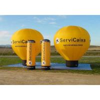 Buy cheap Colorful Inflatable Hot Air Balloon ,  Custom Advertising Blow Ups With Logo from wholesalers
