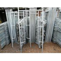 Wholesale Construction Structural Steel Walk Through Frame Scaffolding Flexible Long Span from china suppliers