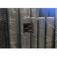 Wholesale Poultry Gabion Wire Mesh Fence / Chicken Wire Fencing Panels Double - Twisted from china suppliers