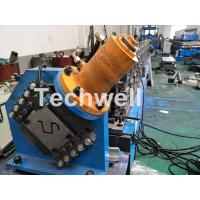 Wholesale PLC Electrical Control Hat Profile Cold Roll Forming Machine With 1.5 Inch Chain Transmission from china suppliers