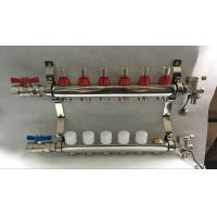 Wholesale Reliance Underfloor Heating Manifold With Italy Long  Flow Meter from china suppliers