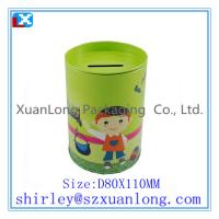 Wholesale custom colorful tin coin box from china suppliers