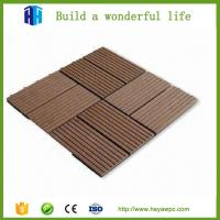 Wholesale HEYA plastic wood composite deck tile wpc board manufacturers from china suppliers