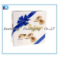 Quality Square Cookie Tin Box for sale