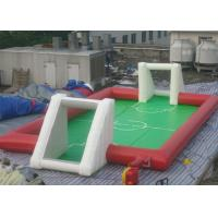 Wholesale Standar Football Inflatable Sports  Games / Soccer Field Sports Equipment With For Family Fun from china suppliers