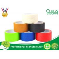 Wholesale Multi Colored  Masking Tape Adhesive , Natural Rubber Tape 36mm X 55m from china suppliers
