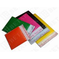 Wholesale Colored Fully Laminated Plastic Poly Bubble Envelope Bags Yellow / Green from china suppliers