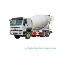 China Howo 6x4 Concrete Transit Mixer Truck 12cbm With Left / Right Hand Drive for sale