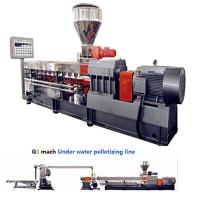 Wholesale 300 - 400 Kg / H Double Screw Extruder Machine With Under Water Pelletizing System from china suppliers