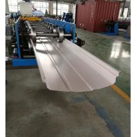 Wholesale Adjustable Width Standing Seam Roof Panel Roll Forming Machine With Auto Seamer from china suppliers