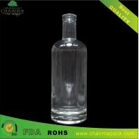 China 750ml High-White Glass Bottle for Rum on sale