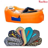 Wholesale Inflatable Outdoor Lounge Sofa Hammock Air Sofa And Pool Float Ships Fast from china suppliers