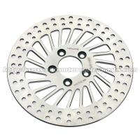 Harley Davidson Sportster Accessories Silver Stainless Steel Rear Brakes Disc for sale