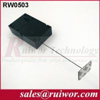 Wholesale Ipad Security TetherWith Sticking Metal Plate , Shop Retail Anti Theft Pull Box from china suppliers