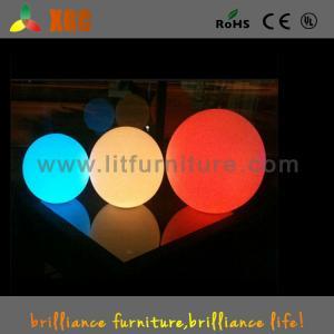 China LED floating ball light / plastic LED Ball / waterproof pool LED Ball lights on sale