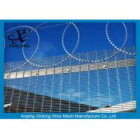 China Anti - Climbing High Security Fence Panels With 4.0mm Wire Diameter for sale