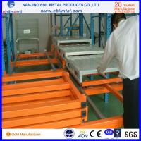 Wholesale New Style Ebilmetal Metallic Push Back Pallet Rack for Warehouse Storage from china suppliers