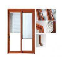 Wholesale Powder Painted Aluminium Glass Sliding Doors / Aluminum Window Frame Extrusions from china suppliers