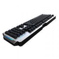 Wholesale RGB Metal Mechanical Keyboard 104 Keys Waterproof Blue Switch Anti Ghosting from china suppliers