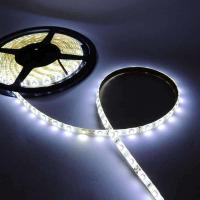 High Quality 5M 300 LED 3528 SMD Pure White 60led/m Waterproof Flexible Strip Lights DC12V for sale