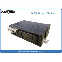 Wholesale Long Distance COFDM Wireless Video Transmitter 5W Power Amplifiter 3km NLOS from china suppliers