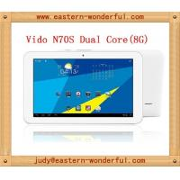 Wholesale RK3066 dual core 7inch android tablet mini Ipad with HD touch capacity screen from china suppliers