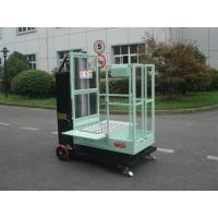 Quality 200kg Rated Load Aerial Order Picker Semi Electric 4.3m For One Person Stock Picking for sale