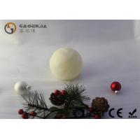 Wholesale Luxury Real Wax Electronic Candles with ball shape  , Carved Craft  LED Candles from china suppliers