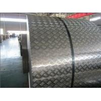 Wholesale No Peeling Diamond Color Coated Aluminium Coil Metal Rolls Anti Slip from china suppliers