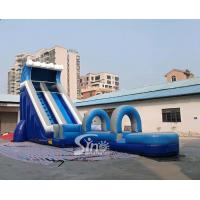China Commercial outdoor hot sale inflatables water slide for the water park from Sino factory for sale