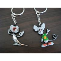 Wholesale Nice Looking Custom PVC Keychains For Business , OEM Custom Shaped Keychains from china suppliers
