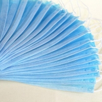 Wholesale Breathable Non Woven Anti Smog Earloop 3 Ply Face Mask from china suppliers