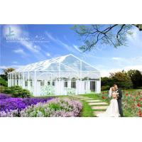 Wholesale Romantic Transparent Cover Tent Grassland Aluminum Wedding Event Marquee from china suppliers