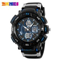 China SKMEI waterproof cold light sport watches digital plastic big hand watches on sale