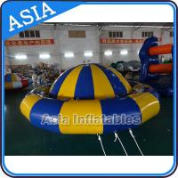 Wholesale Giant Water Floating Inflatable Saturn Rocker / Inflatable Water Disco Boat from china suppliers