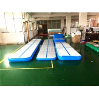 Wholesale Customized Blue Inflatable Air Track Gymnastics Mat 3M 5M 6M 8M 10M 12M from china suppliers