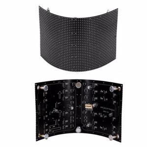 Buy cheap P2.5 soft module Flexible LED Screen arbitrary shape  Light&Energy-saving from Wholesalers