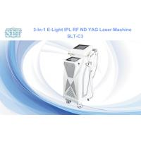 China Nd Yag Laser Tattoo Removal Machine , E light RF IPL Hair Removal Equipment on sale