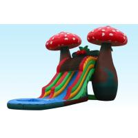 Wholesale Amazing Special 23Ft Mushroom Inflatable Water Slides With Small Pool For Party from china suppliers