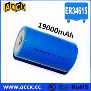 Quality ER34615 3.6V 19000mAh for sale