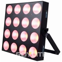 Buy cheap Theatre Professional Lighting 4 x 4 COB 30w RGB 3 In 1 LED Lighting Fixture from wholesalers